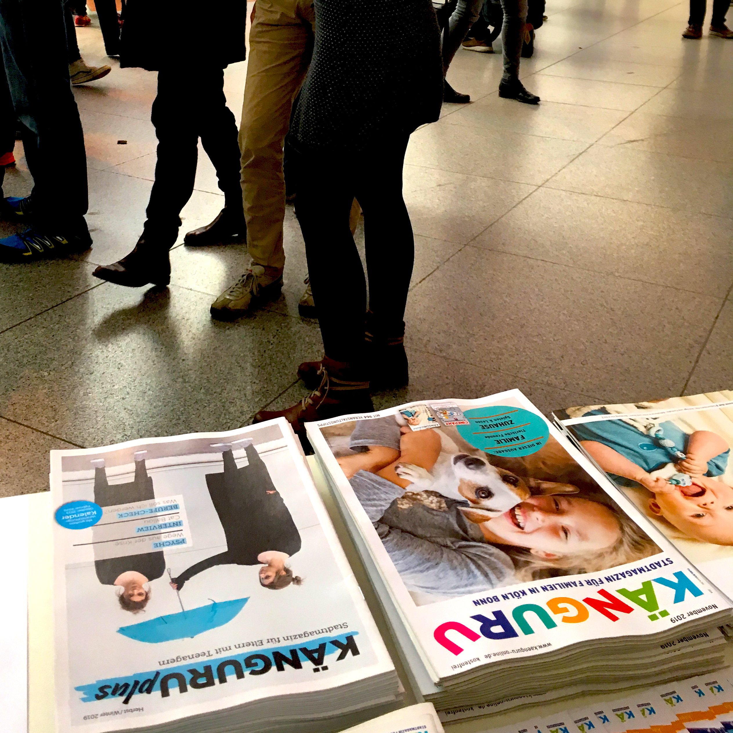 Magazine und Menschen